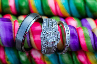 Rings at STL Wedding