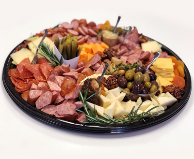 Whippt Catering - charcuterie & cheese platter side