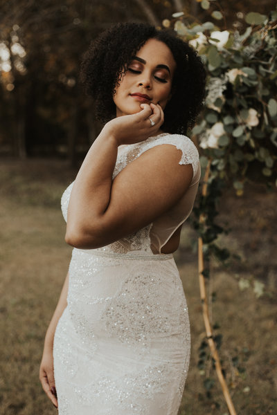 October Elopement Wedding, Dallas TX