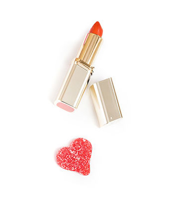 Lipstick-and-heart