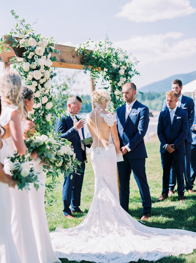 Mimi & Zach | Whitefish Lake, Montana Wedding | Mary Claire Photography | Arizona & Destination Fine Art Wedding Photographer