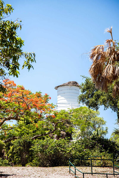 Water tower on Cabbage Key