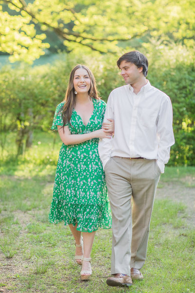 An Oxford, Mississippi Engagement Session | The Square & Rowan Oak