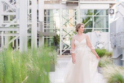 Favorite Bridal Portrait Location Austin Seaholm District