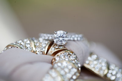 wedding ring detail shot by Nicole Chatham Photography