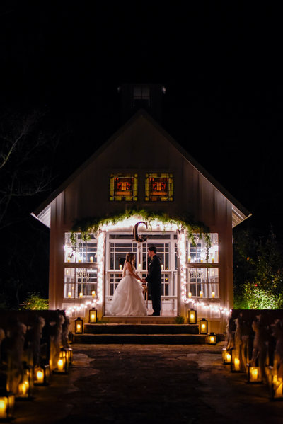 College Station Weddings - 7F Lodge Night
