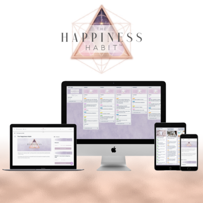 Happiness Habit Mockup