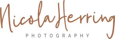 nicola herring photography logo orange