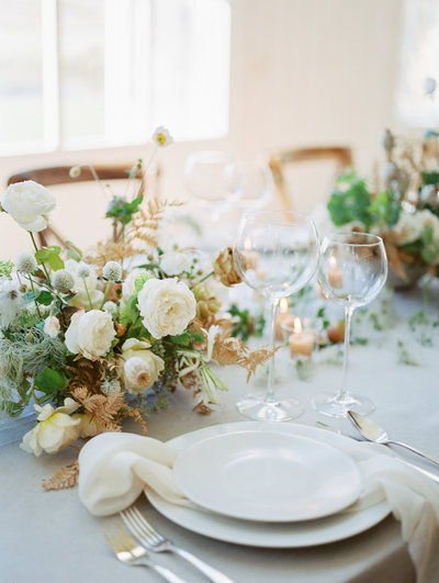 Tablescape at River Bottoms Ranch
