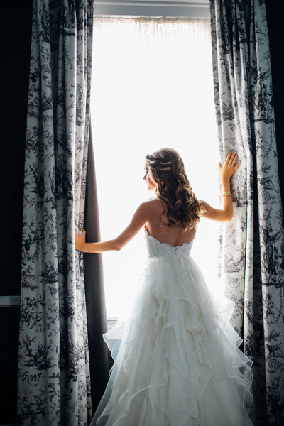 Waiting bride, Baltimore wedding photographer
