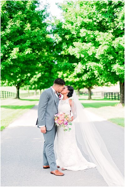best virginia wedding at long branch manor