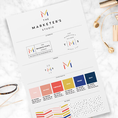 themarketersstudio-branding-board