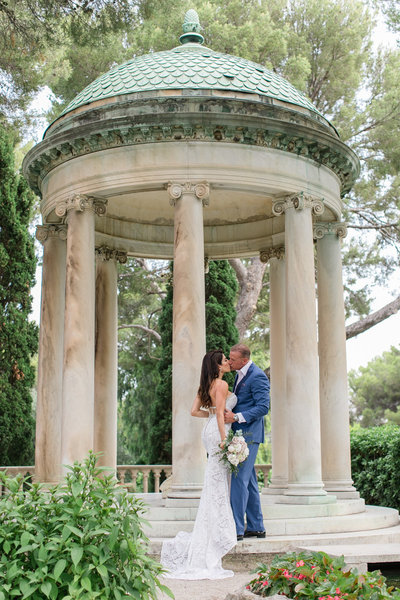 villa ephrussi wedding photography