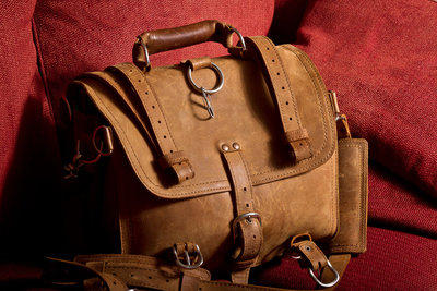 David Castillo of Expose The Heart Photography his Saddleback Leather Briefcase