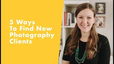 how to find new photography clients