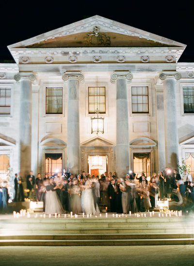 5-KTMerry-wedding-reception-Ballyfin-Ireland-exterior