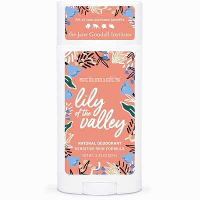 Schmidts Lily of the Valley Sensitive Skin Deodorant Stick