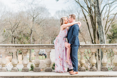 07cheekwood spring engagement session