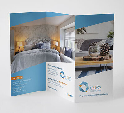 Qura Property Trifold by The Brand Advisory