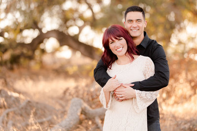 engagement photo at the santa rosa plateau in Temecula by Matty Fran Photography_Engagement