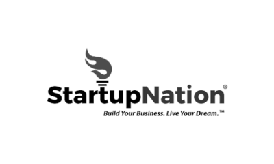 Start Up Nation Logo on heather j crider growth mindset and self reflection website image