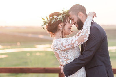 A Rustic Glam Hanford Ranch Winery Wedding by Adrienne and Dani Photography