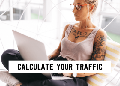calculate your ftraffic