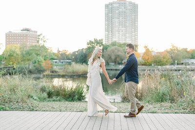 Maggie + Brandon - Sarah Sunstrom Photography - Engagement Session - Chicago Wedding Photographer - 33