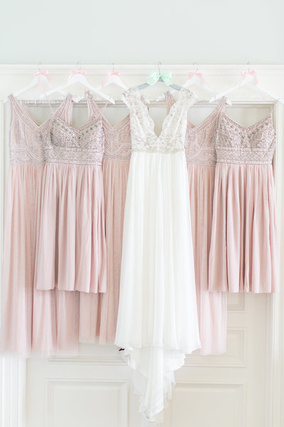 Blush Anthropologie Bridesmaids Dresses