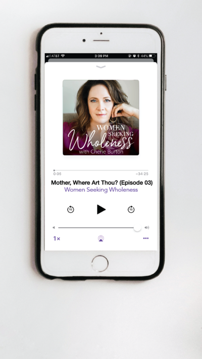 Cherie Home - podcast section mobile-01