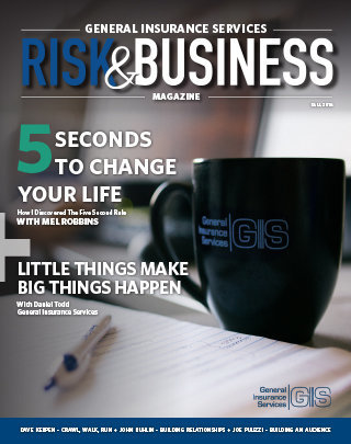 Cover Photo_General Insurance Services_Risk & Business Magazine_Fall 2018