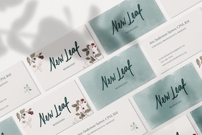 New Leaf Business Cards
