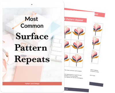 Surface Pattern repeats
