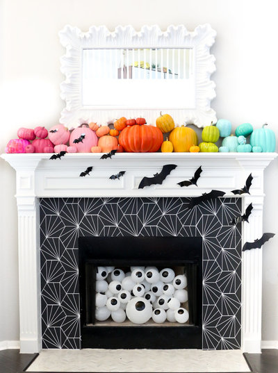 halloween fireplace-3