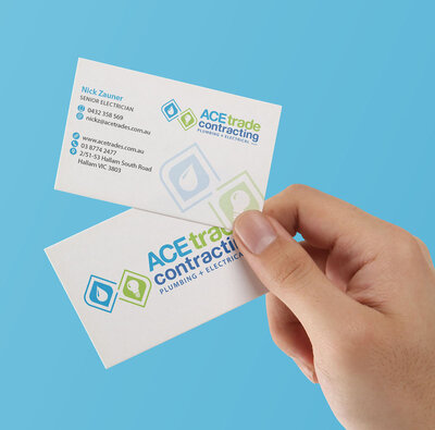 ACE Trades Business Card by The Brand Advisory