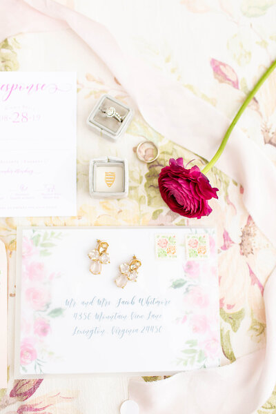 hope taylor workshop vellum floral wedding invitation vintage stamps 4