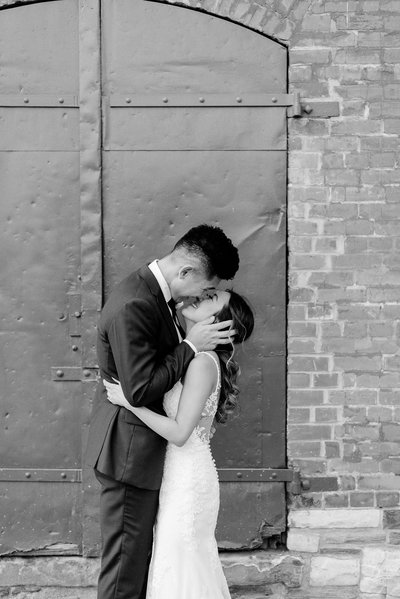 Jacqueline James Photography | Airship37 Distillery District Modern Romantic Toronto Wedding Photographer