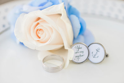 Rings and Flowers from DC Wedding