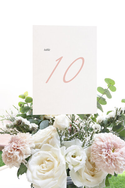 Mary Table Number