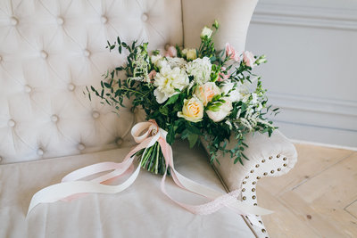 Gorgeous bouquet at Delaware wedding