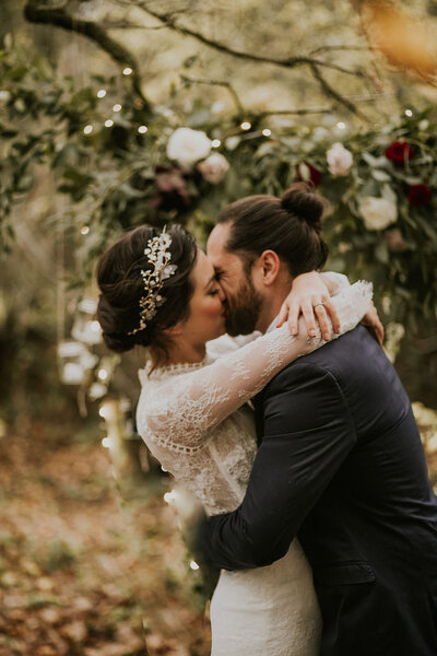 Forest Elopement Bridal Styled Shoot Gallery