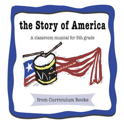 The Story of America Musical Album Cover