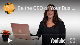 Be the CEO of your Business