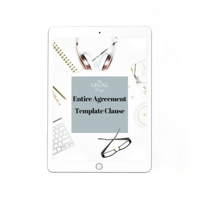 Entire Agreement