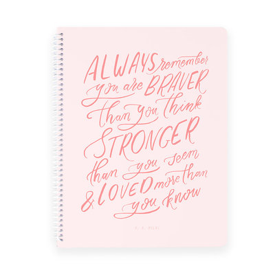always remember notebook mockup square