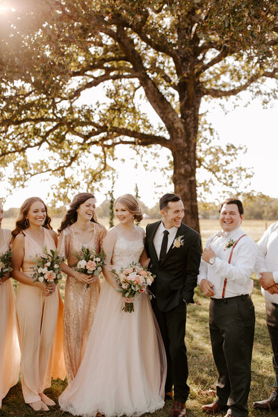 Jenna + Nathan | Wedding at the Wildflower | Emory, Texas | Alison Faith Photography-2034