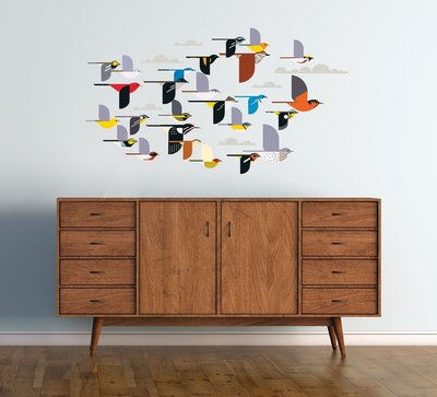 Charley Harper birds for you home or office.