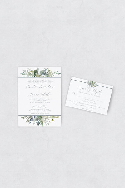 pirouettepaper.com | Wedding Stationery, Signage and Invitations | Pirouette Paper Company | Semi Custom Invitations | The Meadow 05
