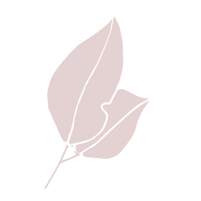 Leaf graphic pink-10