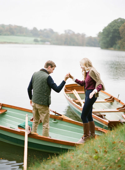 13-KTMerry-destination-weddings-Ireland-Ballyfin-boating
